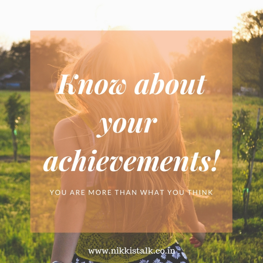 Achievements | Nikki's talk