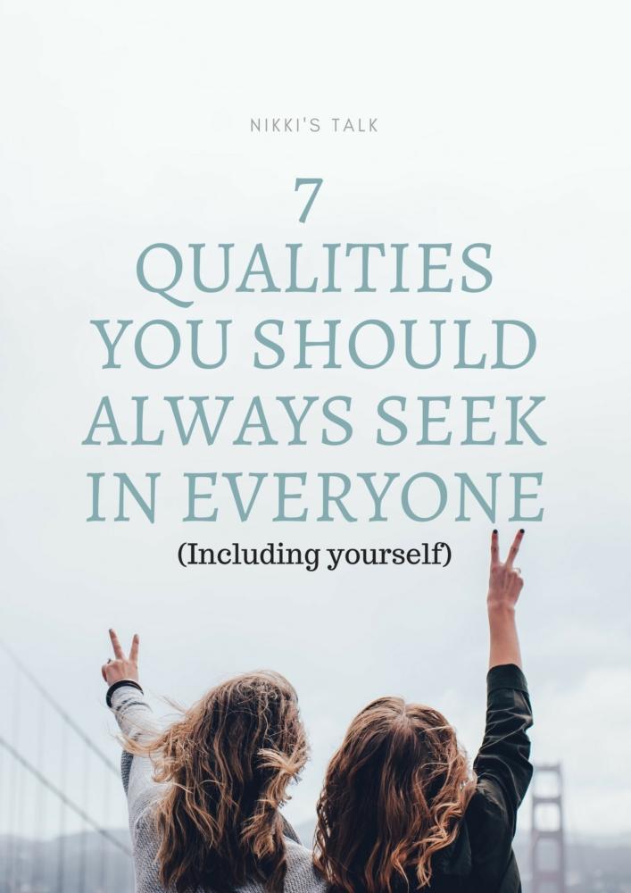 7 qualities