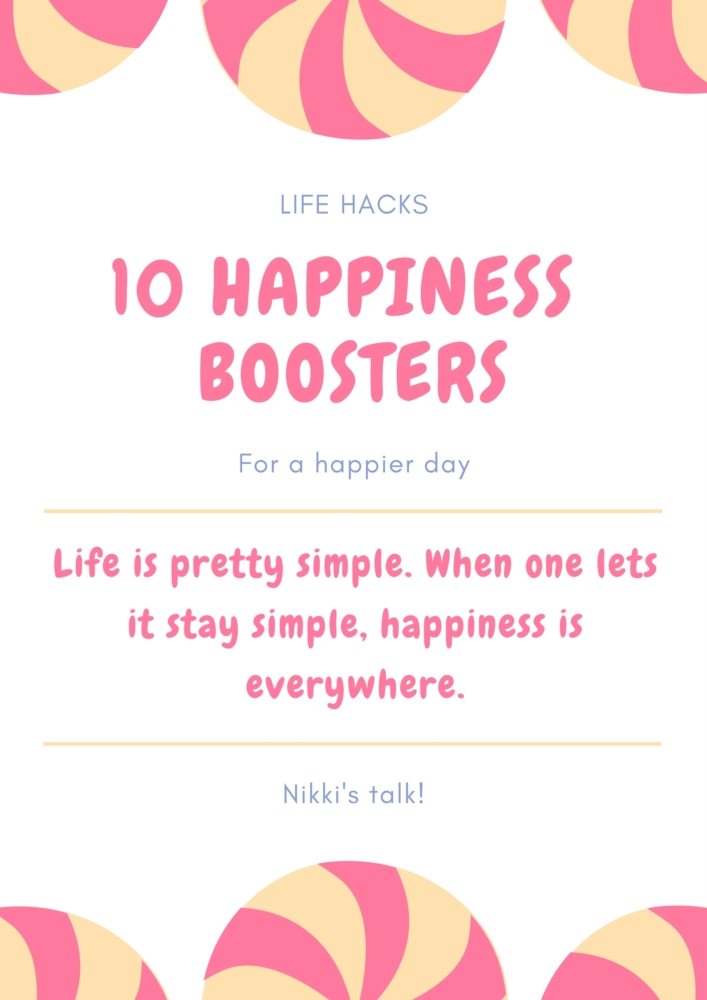 10 happiness boosters