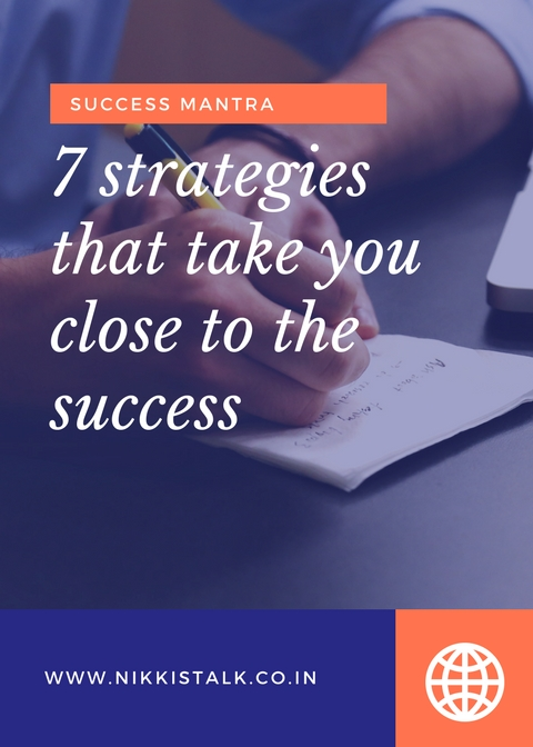 7 success strategies