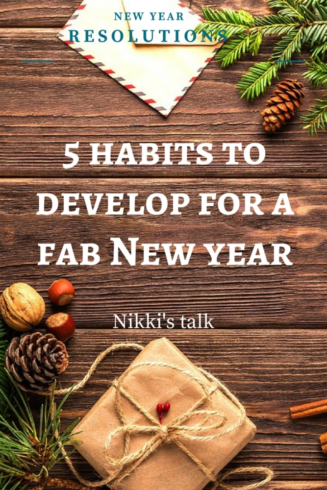 habits to develop | Nikki's talk