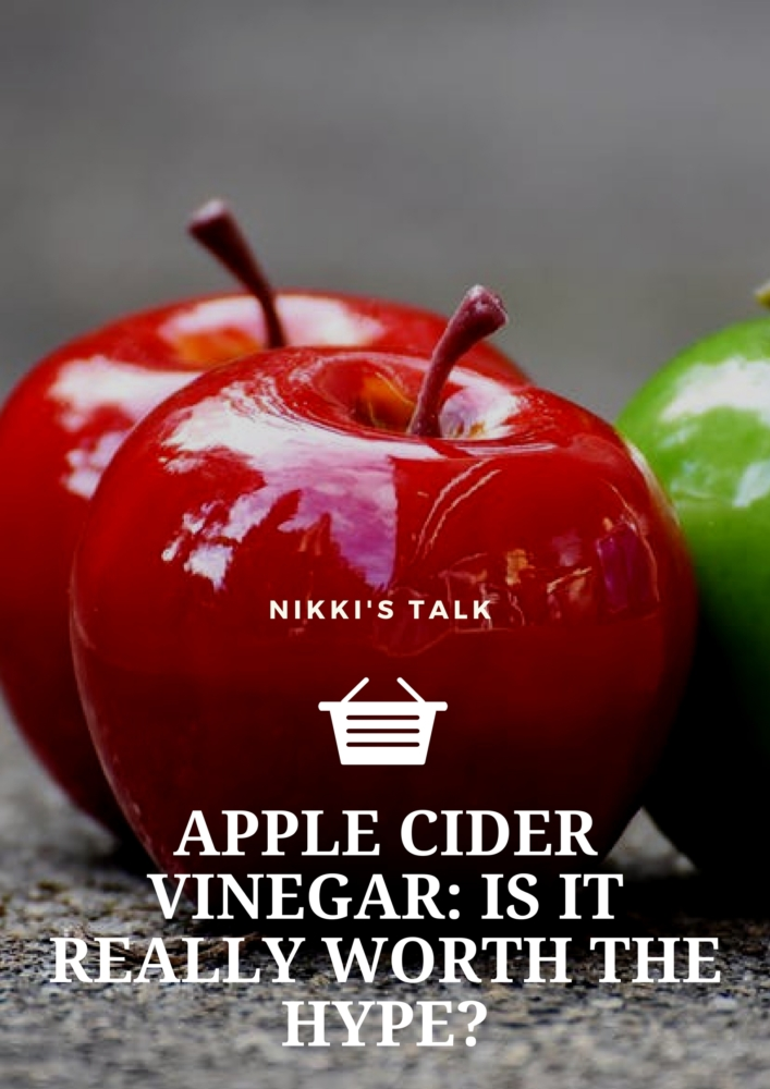 apple cider vinegar | Nikki's talk