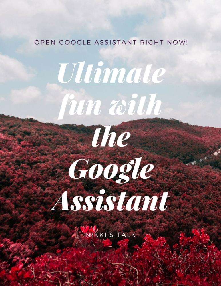google assistant | Nikki's talk