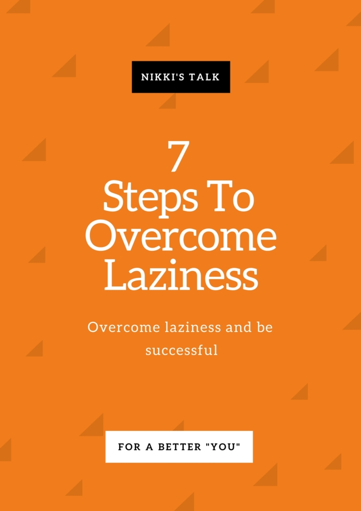 overcome laziness
