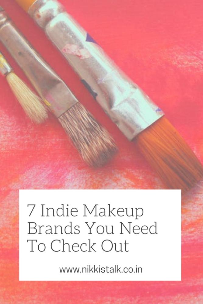 Indie makeup brands   Nikki's talk