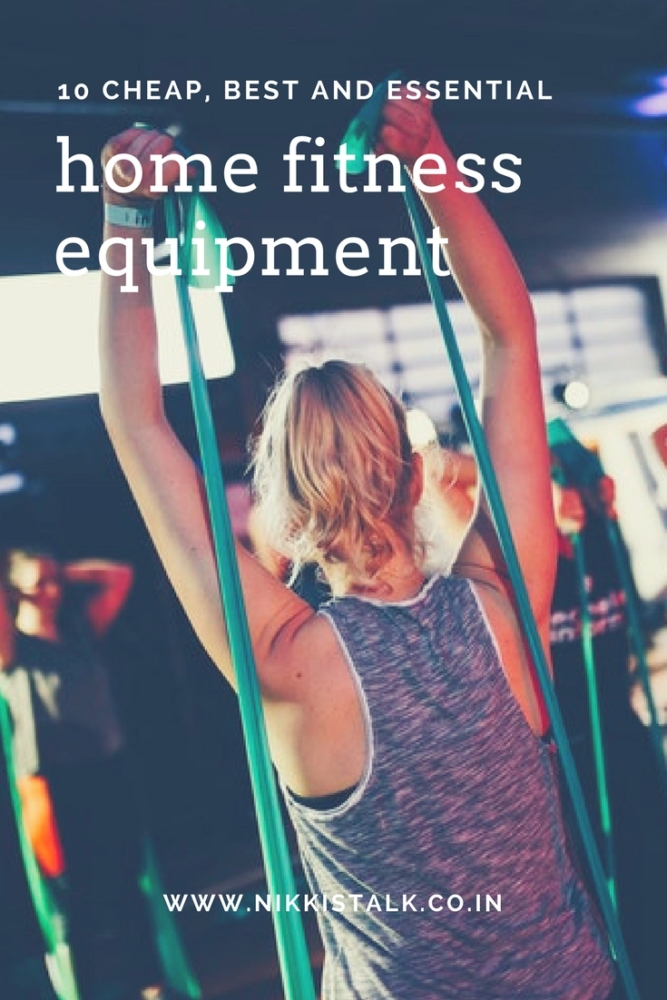 10 cheap and essential home fitness equipment (The best)