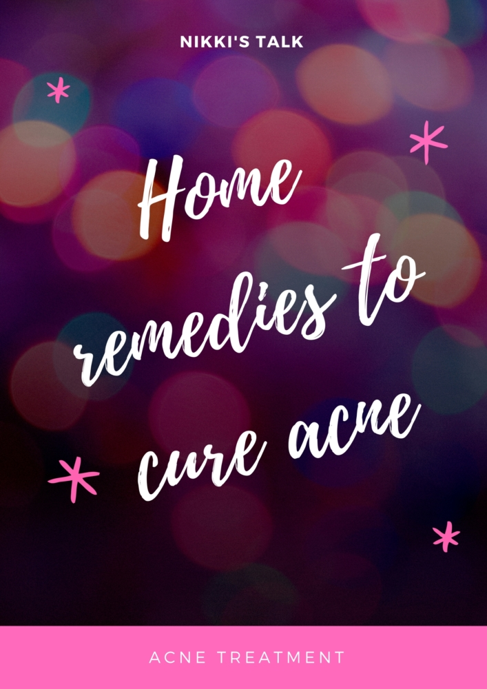 Acne treatment | Homemade remedies to cure acne