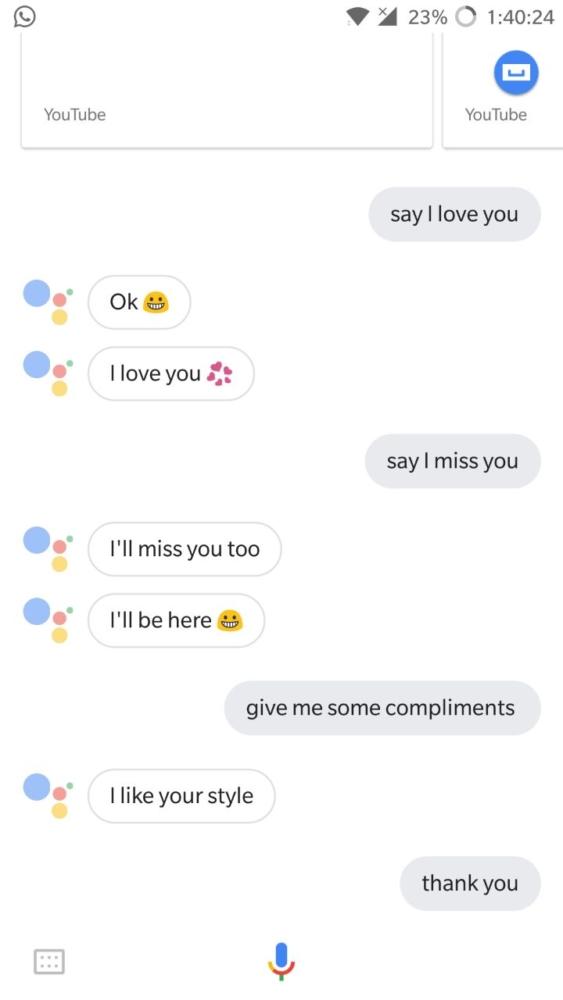 Google assistant   Nikki's talk