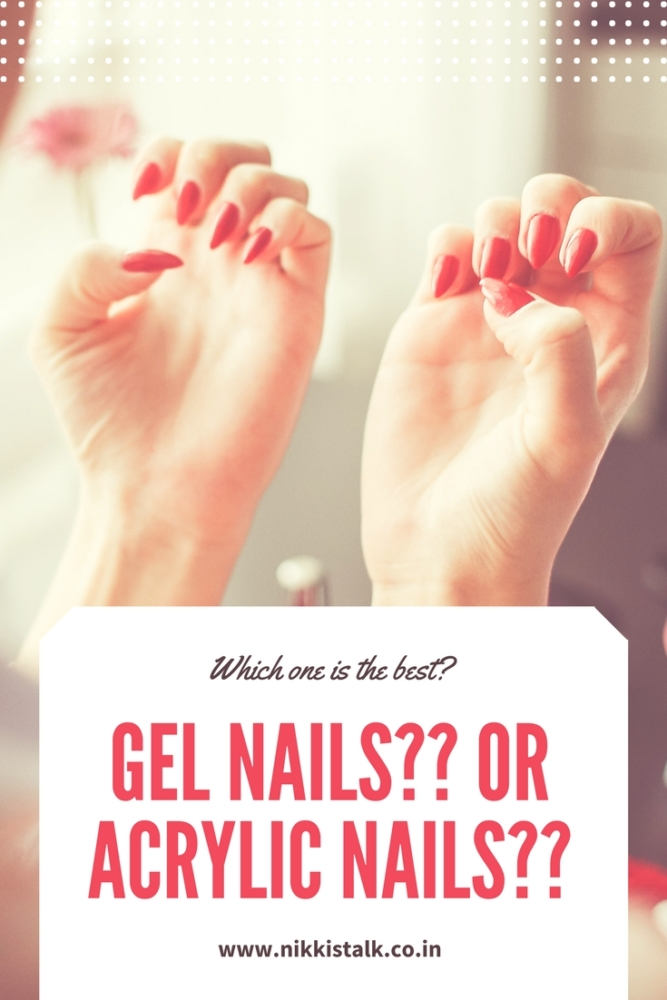 Gel nails over Acrylic nails | Nikki's talk