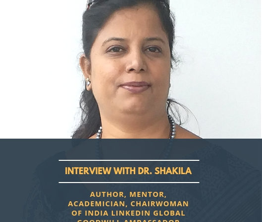 Dr. Shakila | LinkedIn global goodwill ambassador