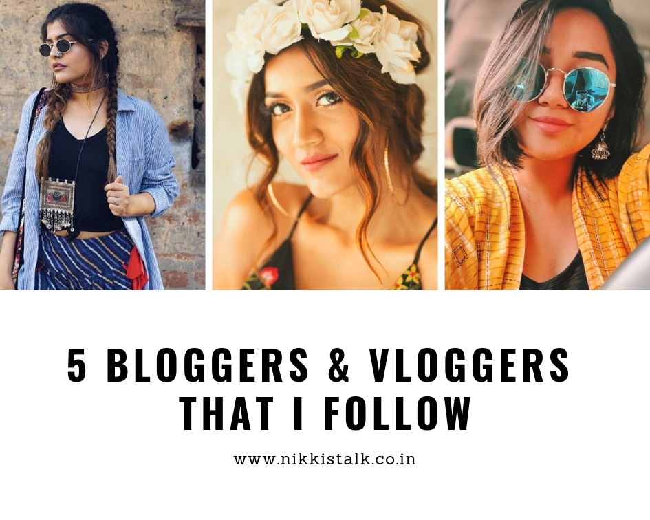 bloggers and vloggers | vloggers I follow