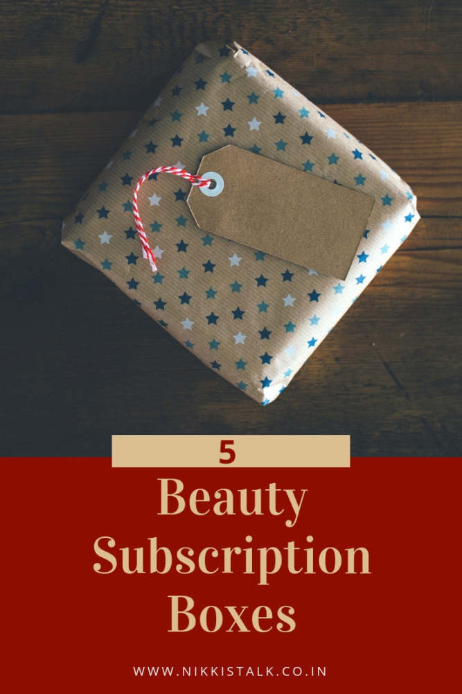 beauty subscription boxes India