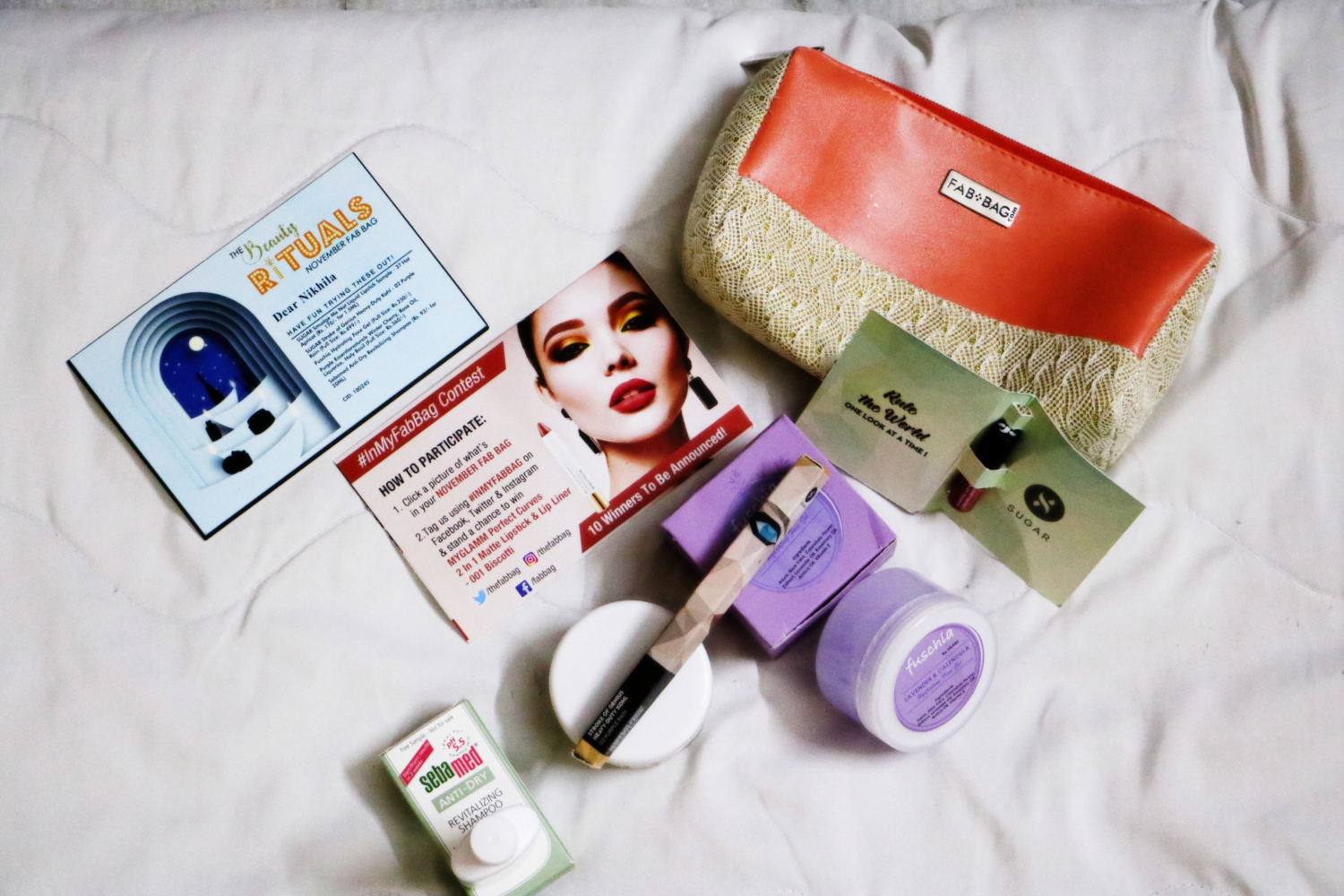 November Fab Bag Subscription