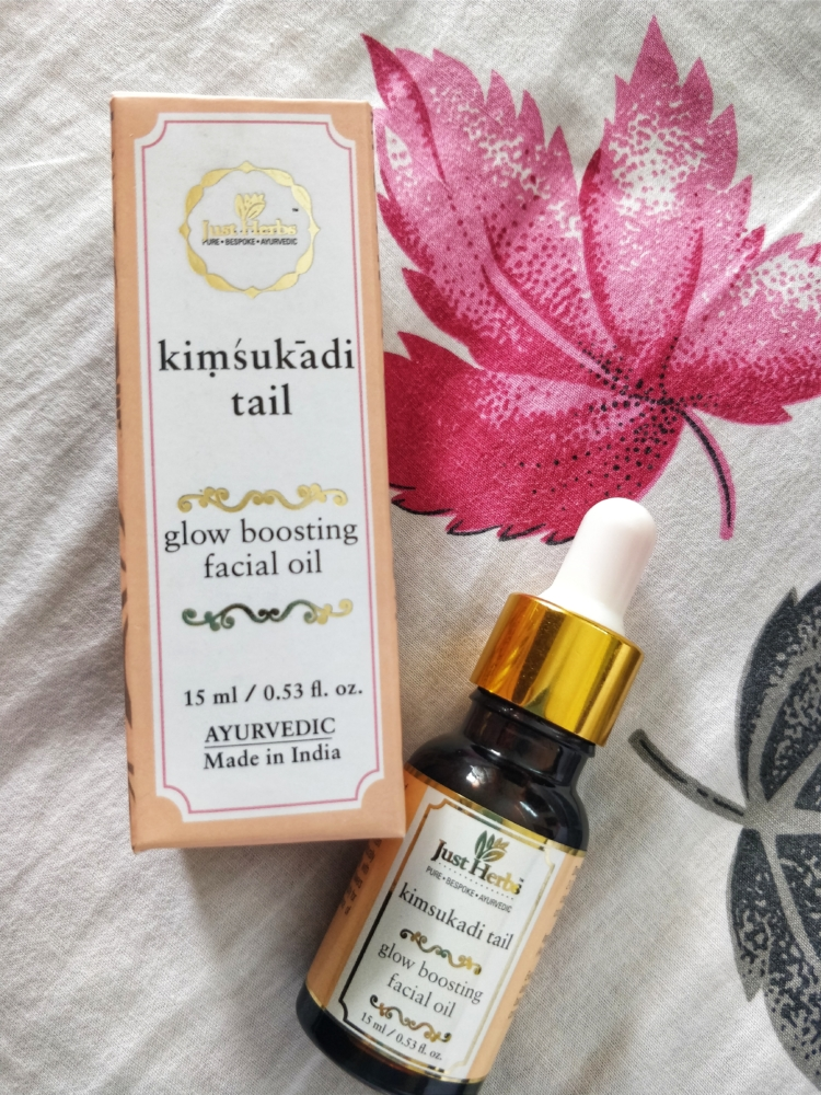 kimsukadi tail glow boosting facial oil