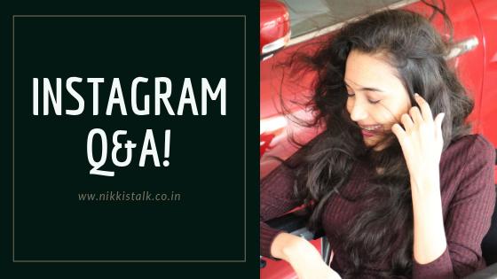 instagram Q&A