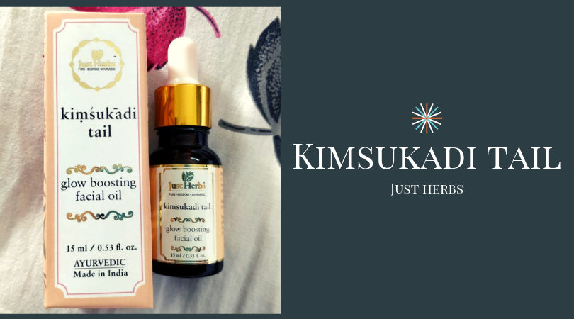 kimsukadi tail | glow boosting facial oil