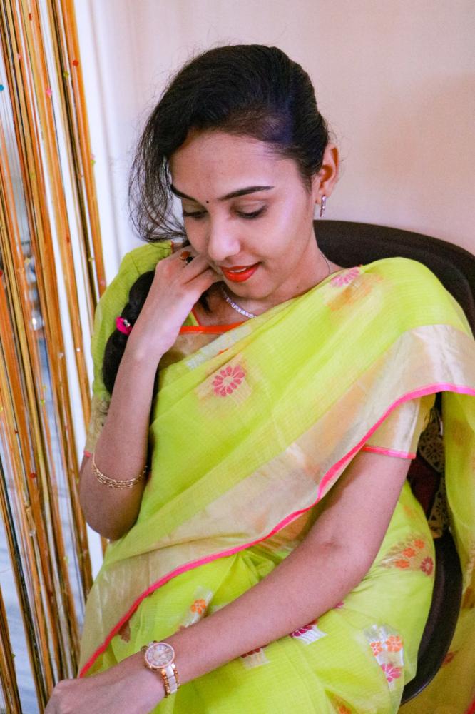navratri day 2 | kota silk saree