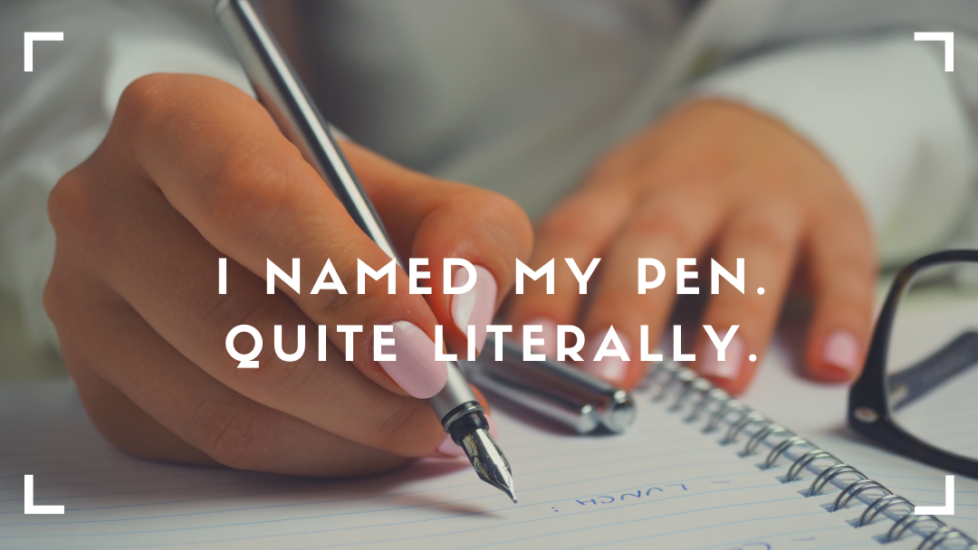 I named my pen | Nikki's talk
